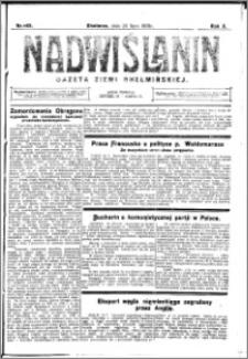 Nadwiślanin. Gazeta Ziemi Chełmińskiej, 1928.07.25 R. 10 nr 59