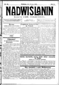 Nadwiślanin. Gazeta Ziemi Chełmińskiej, 1928.07.28 R. 10 nr 60