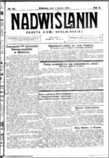 Nadwiślanin. Gazeta Ziemi Chełmińskiej, 1928.08.04 R. 10 nr 62