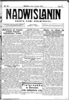Nadwiślanin. Gazeta Ziemi Chełmińskiej, 1928.08.08 R. 10 nr 63