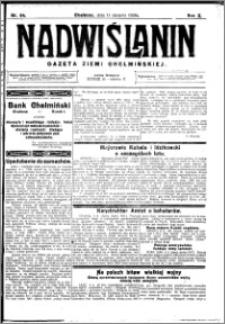 Nadwiślanin. Gazeta Ziemi Chełmińskiej, 1928.08.11 R. 10 nr 64