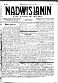 Nadwiślanin. Gazeta Ziemi Chełmińskiej, 1928.08.18 R. 10 nr 66
