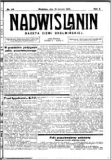 Nadwiślanin. Gazeta Ziemi Chełmińskiej, 1928.08.29 R. 10 nr 69