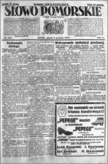 Słowo Pomorskie 1925.12.04 R.5 nr 282