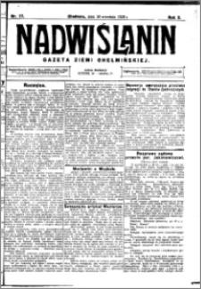 Nadwiślanin. Gazeta Ziemi Chełmińskiej, 1928.09.26 R. 10 nr 77