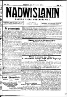 Nadwiślanin. Gazeta Ziemi Chełmińskiej, 1928.09.29 R. 10 nr 78
