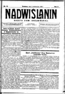Nadwiślanin. Gazeta Ziemi Chełmińskiej, 1928.10.03 R. 10 nr 79