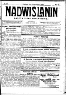 Nadwiślanin. Gazeta Ziemi Chełmińskiej, 1928.10.06 R. 10 nr 80