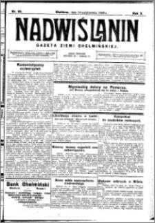 Nadwiślanin. Gazeta Ziemi Chełmińskiej, 1928.10.24 R. 10 nr 85