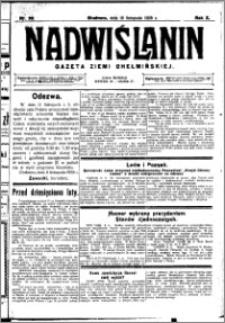 Nadwiślanin. Gazeta Ziemi Chełmińskiej, 1928.11.10 R. 10 nr 90