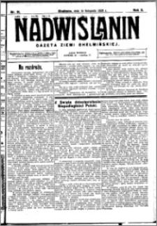 Nadwiślanin. Gazeta Ziemi Chełmińskiej, 1928.11.14 R. 10 nr 91