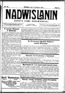 Nadwiślanin. Gazeta Ziemi Chełmińskiej, 1928.11.24 R. 10 nr 94