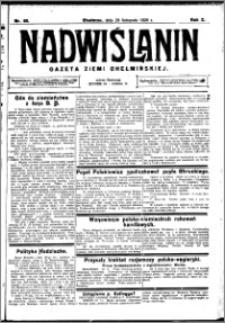 Nadwiślanin. Gazeta Ziemi Chełmińskiej, 1928.11.29 R. 10 nr 95