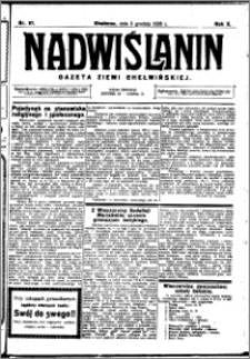 Nadwiślanin. Gazeta Ziemi Chełmińskiej, 1928.12.05 R. 10 nr 97