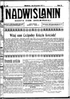 Nadwiślanin. Gazeta Ziemi Chełmińskiej, 1928.12.19 R. 10 nr 101