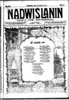 Nadwiślanin. Gazeta Ziemi Chełmińskiej, 1928.12.23 R. 10 nr 102