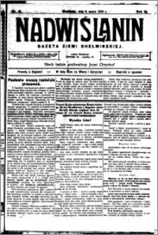 Nadwiślanin. Gazeta Ziemi Chełmińskiej, 1929.03.06 R. 11 nr 18