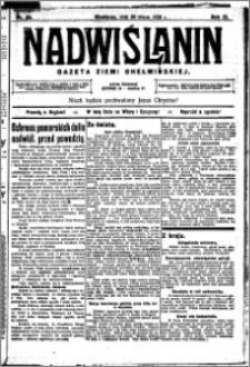 Nadwiślanin. Gazeta Ziemi Chełmińskiej, 1929.03.20 R. 11 nr 22