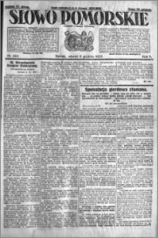 Słowo Pomorskie 1925.12.08 R.5 nr 285