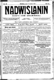 Nadwiślanin. Gazeta Ziemi Chełmińskiej, 1929.04.17 R. 11 nr 30
