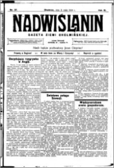 Nadwiślanin. Gazeta Ziemi Chełmińskiej, 1929.05.11 R. 11 nr 37