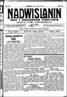 Nadwiślanin. Gazeta Ziemi Chełmińskiej, 1929.07.09 R. 11 nr 55