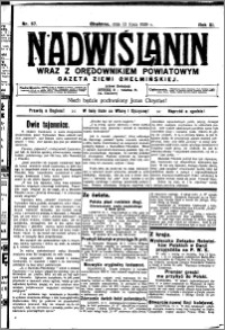Nadwiślanin. Gazeta Ziemi Chełmińskiej, 1929.07.13 R. 11 nr 57