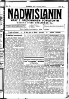 Nadwiślanin. Gazeta Ziemi Chełmińskiej, 1929.08.06 R. 11 nr 67