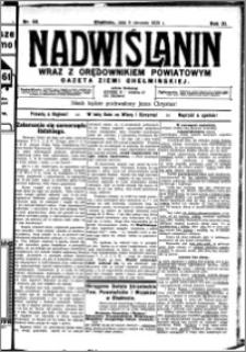 Nadwiślanin. Gazeta Ziemi Chełmińskiej, 1929.08.08 R. 11 nr 68