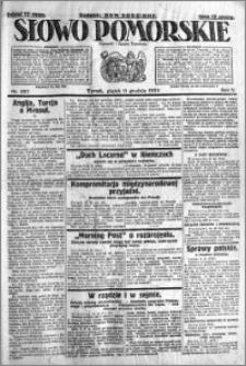 Słowo Pomorskie 1925.12.11 R.5 nr 287