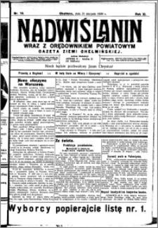 Nadwiślanin. Gazeta Ziemi Chełmińskiej, 1929.08.31 R. 11 nr 78