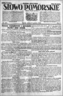 Słowo Pomorskie 1925.12.12 R.5 nr 288