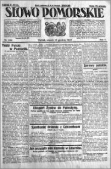Słowo Pomorskie 1925.12.15 R.5 nr 290