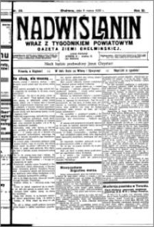 Nadwiślanin. Gazeta Ziemi Chełmińskiej, 1930.03.06 R. 12 nr 28