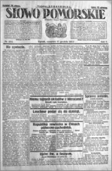 Słowo Pomorskie 1925.12.17 R.5 nr 292