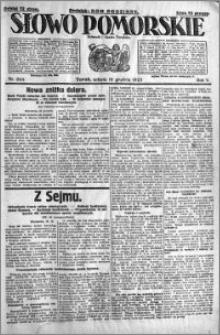 Słowo Pomorskie 1925.12.19 R.5 nr 294