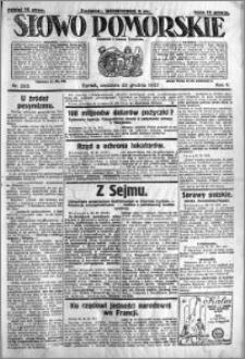 Słowo Pomorskie 1925.12.20 R.5 nr 295