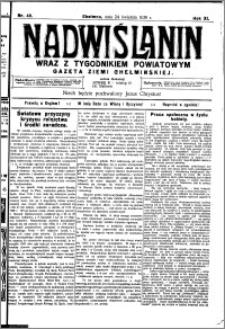 Nadwiślanin. Gazeta Ziemi Chełmińskiej, 1930.04.24 R. 12 nr 49
