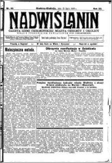 Nadwiślanin. Gazeta Ziemi Chełmińskiej, 1930.07.15 R. 12 nr 83