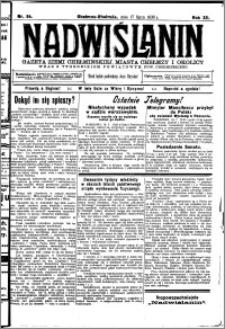 Nadwiślanin. Gazeta Ziemi Chełmińskiej, 1930.07.17 R. 12 nr 84