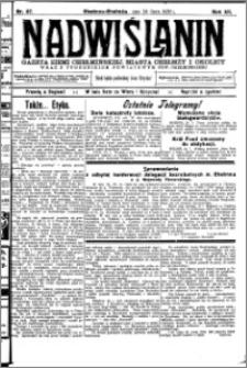 Nadwiślanin. Gazeta Ziemi Chełmińskiej, 1930.07.24 R. 12 nr 87