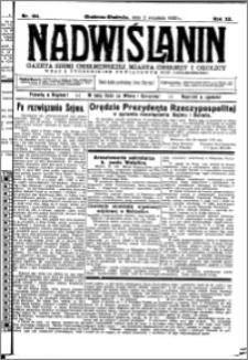 Nadwiślanin. Gazeta Ziemi Chełmińskiej, 1930.09.02 R. 12 nr 104
