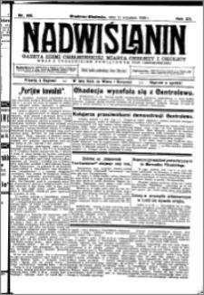 Nadwiślanin. Gazeta Ziemi Chełmińskiej, 1930.09.11 R. 12 nr 108