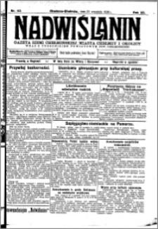 Nadwiślanin. Gazeta Ziemi Chełmińskiej, 1930.09.23 R. 12 nr 113