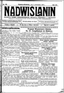 Nadwiślanin. Gazeta Ziemi Chełmińskiej, 1930.10.05 R. 12 nr 118