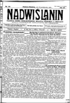 Nadwiślanin. Gazeta Ziemi Chełmińskiej, 1930.10.19 R. 12 nr 124