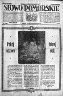 Słowo Pomorskie 1925.12.25 R.5 nr 299