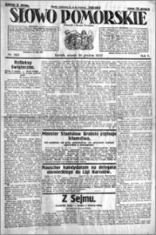 Słowo Pomorskie 1925.12.29 R.5 nr 300