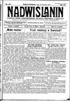 Nadwiślanin. Gazeta Ziemi Chełmińskiej, 1930.11.30 R. 12 nr 142