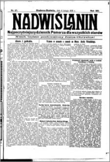 Nadwiślanin. Gazeta Ziemi Chełmińskiej, 1931.02.04 R. 13 nr 27